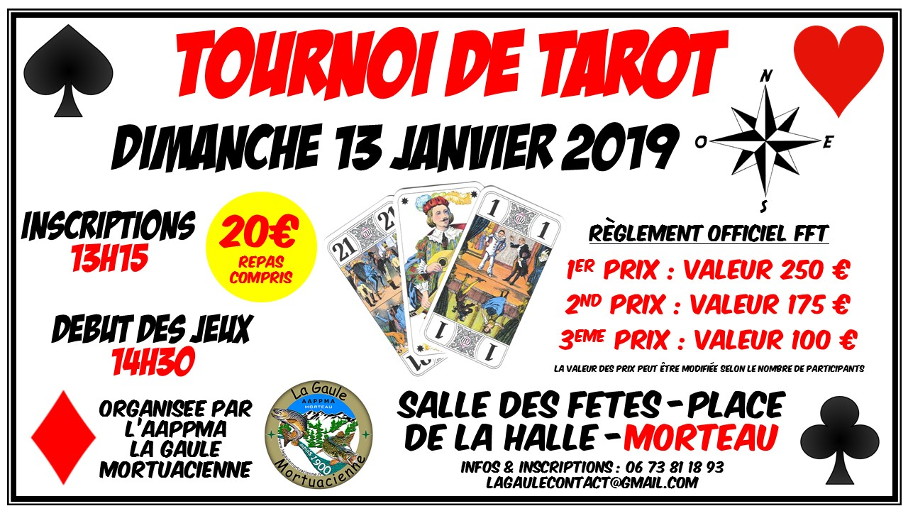 AFFICHE OFFICIELLE TAROT 2019